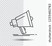 bullhorn  digital  marketing ... | Shutterstock .eps vector #1255483783