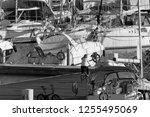 italy  sicily  mediterranean... | Shutterstock . vector #1255495069