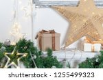 christmas decorations for the... | Shutterstock . vector #1255499323