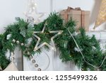 christmas decorations for the... | Shutterstock . vector #1255499326