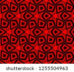 decorative wallpaper design in... | Shutterstock .eps vector #1255504963