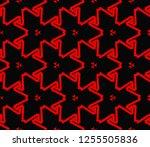 decorative wallpaper design in... | Shutterstock .eps vector #1255505836