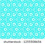 decorative wallpaper design in... | Shutterstock .eps vector #1255508656