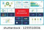 business infographic diagram... | Shutterstock .eps vector #1255510036