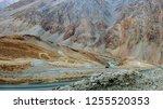 Road Up A Himalayan Mountain