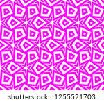 decorative wallpaper design in... | Shutterstock .eps vector #1255521703
