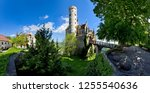 panoramic view of the...   Shutterstock . vector #1255540636