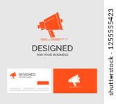 business logo template for... | Shutterstock .eps vector #1255555423