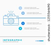 camera  photography  capture ... | Shutterstock .eps vector #1255564690