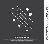 star  shooting star  falling ... | Shutterstock .eps vector #1255571473