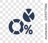 data analytics icon. trendy... | Shutterstock .eps vector #1255577086