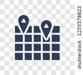 3d location graph icon. trendy...   Shutterstock .eps vector #1255578823