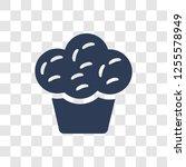 muffin icon. trendy muffin logo ...   Shutterstock .eps vector #1255578949