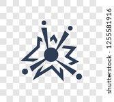 big bang icon. trendy big bang... | Shutterstock .eps vector #1255581916