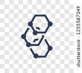 graphene icon. trendy graphene... | Shutterstock .eps vector #1255587349
