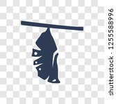cocoon icon. trendy cocoon logo ... | Shutterstock .eps vector #1255588996