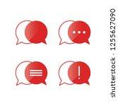 minimalist chat icon sets