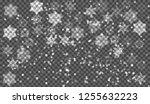 eps10. christmas snow. falling... | Shutterstock .eps vector #1255632223