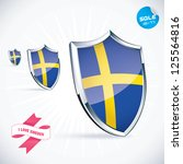 i love sweden flag illustration ...
