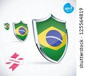 i love brazil flag illustration ...