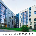 apartment modern house and home ... | Shutterstock . vector #1255681213