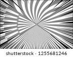 comic duel monochrome...   Shutterstock .eps vector #1255681246