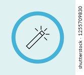 magic wand icon symbol. premium ...   Shutterstock .eps vector #1255709830