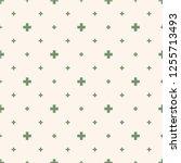 vector minimalist geometric... | Shutterstock .eps vector #1255713493