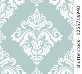 orient vector classic pattern.... | Shutterstock .eps vector #1255716940