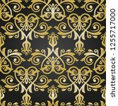 classic seamless vector pattern.... | Shutterstock .eps vector #1255717000