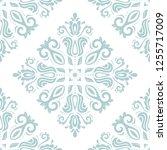 orient vector classic pattern.... | Shutterstock .eps vector #1255717009