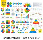 business infographic template.... | Shutterstock .eps vector #1255721110