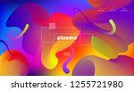 trendy abstract background .... | Shutterstock .eps vector #1255721980