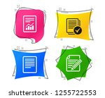 file document icons. document... | Shutterstock .eps vector #1255722553