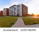 apartment modern house and home ... | Shutterstock . vector #1255738390