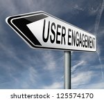 user engagement users generated ...   Shutterstock . vector #125574170