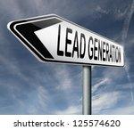 lead generation internet... | Shutterstock . vector #125574620