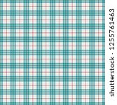 pink and blue plaid seamless...   Shutterstock .eps vector #1255761463