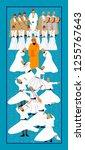 dervish. eps 10 format vector... | Shutterstock .eps vector #1255767643