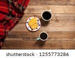 people hangout drinking coffee | Shutterstock . vector #1255773286