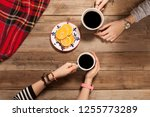 people hangout drinking coffee | Shutterstock . vector #1255773289