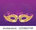 mardi gras party | Shutterstock .eps vector #1255802749
