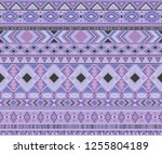 navajo american indian pattern...   Shutterstock .eps vector #1255804189