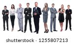in full growth.professional... | Shutterstock . vector #1255807213