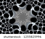 a hand drawing pattern made of... | Shutterstock . vector #1255825996