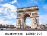 Arc De Triomphe Against Nice...