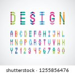 vector of modern abstract color ...   Shutterstock .eps vector #1255856476