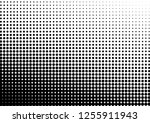 grunge dots background. fade... | Shutterstock .eps vector #1255911943
