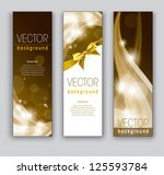 banners. set of three. modern... | Shutterstock .eps vector #125593784
