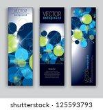 banners. set of three. modern... | Shutterstock .eps vector #125593793